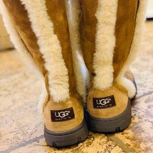Ugg Tall Sunburst Boot In Chestnut Sz 7